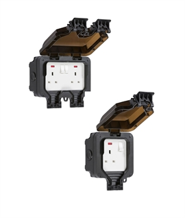 IP66 Rated Outdoor Wall Sockets