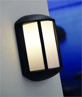 Exterior Wall Light - Black Finish