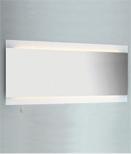 Wide Backlit Bathroom Mirror W1250mm