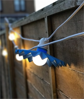 LED Coloured Festoon Party 10 Light Kit