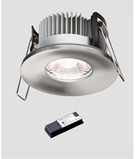Fixed Low Profile IP65 Advanced LED Fire Rated Downlight