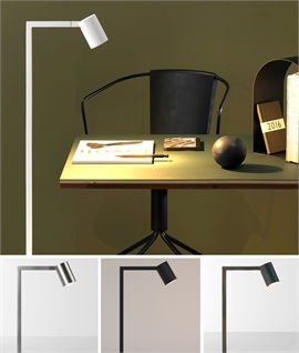Modern & Minimal Floor Reading Light - Four Colours