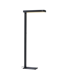 Free-Standing LED Floor Light for Workstations & Offices