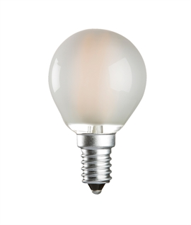 E14 4 Watt LED Golf Ball - Opal Diffused