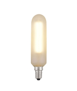 E14 Frosted LED Long Tubular Decorative Filament Lamp - 4W