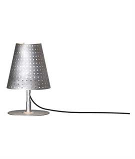 Galvanised Exterior Table  Lamp