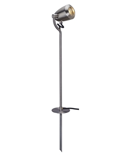 Tall Stainless Steel Adjustable Spike Light - IP65 Rated