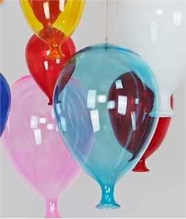 Coloured Glass Balloons - Long Drop Pendant