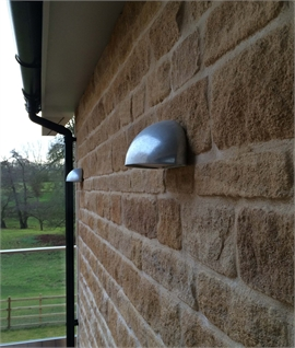 Low Glare Half-Moon Exterior Wall Down Light