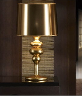 Contemporary Glossy Finish Table Lamp