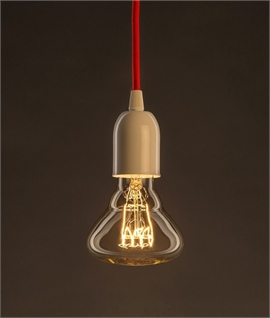 E27 30w Shaped Gold Filament Lamp