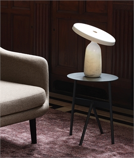 Eddy Marble Table Lamp with LED by Normann Copenhagen