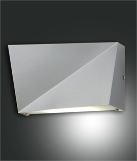 Asymmetric Metal LED Wall Light