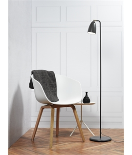 Slim Profile LED Metal Floor Lamp