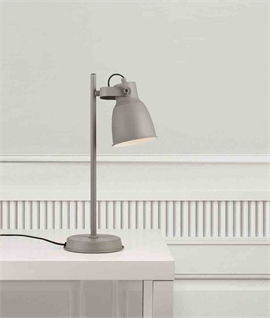Nordic Industrial Style Table Lamp