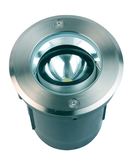 Drive Over Recessed LED Ground Light - Adjustable Angle