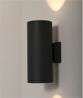 High Power Up & Down LED Wall Light - Anthracite