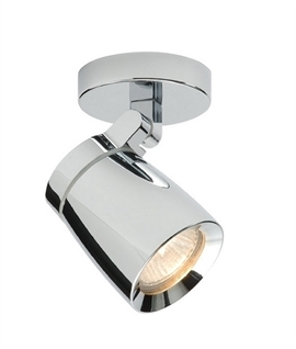 Sleek Design Single Adjustable Spot IP44