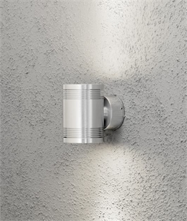 Sturdy Up & Down LED Exterior Wall Light - 3 Options