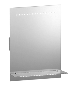 Multi-Functional Lit Mirror 500mm x 390mm