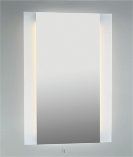 Backlit Mirror & Shaver Socket 600mm x 520mm