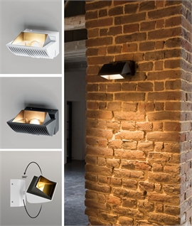 Interior Aluminium Wall Mounted Floodlight - Adjustable