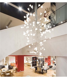 LED Jogg Chandelier - 5 Sizes