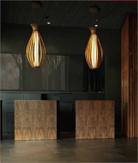 Bamboo Feature Pendant H:1200mm