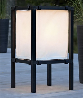 Japanese Shoji Style Freestanding patio Lights