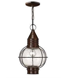 Old Brass Fishermans Hanging Lantern