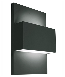 Larger Commercial Exterior Wall Light for E27 Lamps