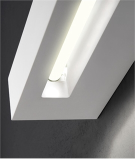 Linear Plaster Wall Light for T5 lamp