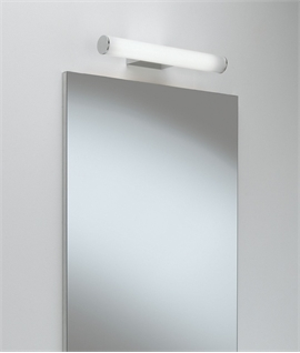 Bathroom LED Polished Chrome Wall Light