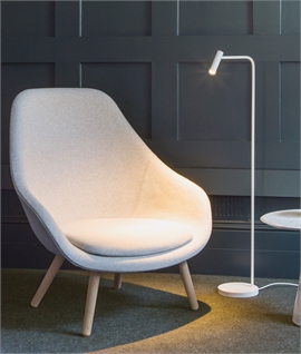 Modern Adjustable Slim LED Floor Lamp for Reading