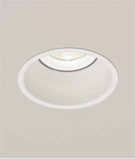 LV Low Glare White Finish Downlight