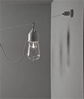 Lustreware Pendants on Tensile Wire