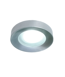 Brushed Aluminum Downlight - IP65 Rated