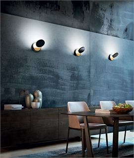 Modern Wall Light with Adjustable Spot - Dimmable