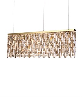 Crystal Prism Extra Wide Pendant - 1 Metre