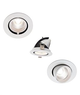 Scoop Downlight With Built-in LED Lamps - 3 Sizes