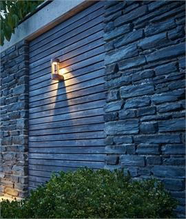Open Frame LED Bracket Exterior Wall Light - Indirect Lighting