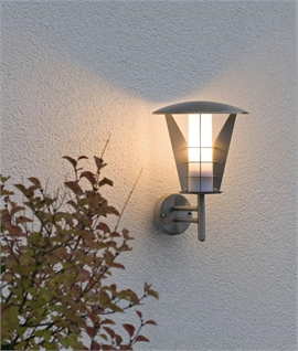 Stylish Stainless Steel Exterior Wall Light