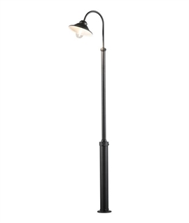 Lamp post for gardens lighting styles modern super stylish lamp post mozeypictures Choice Image