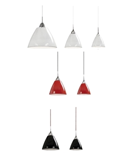 Metal Pendant - 3 Sizes and 3 Finishes