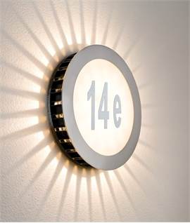 LED House Number Bulkhead