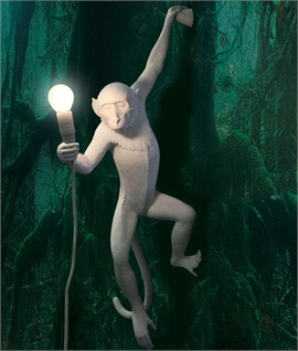 Monkey Wall Light with LED Lamp