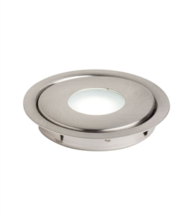 Stainless Steel Recessed LED Floor Spot - IP67 Rated
