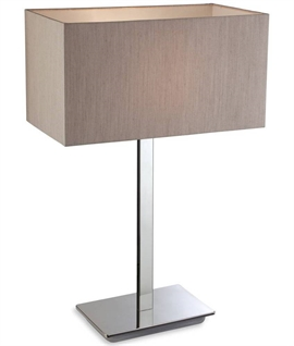 Stainless Steel Modern Table Lamp