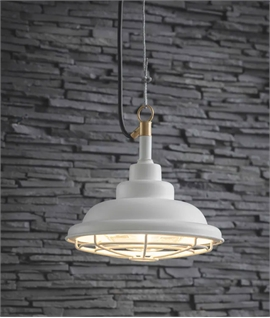 Mariner Style Pendant with IP44 Rating