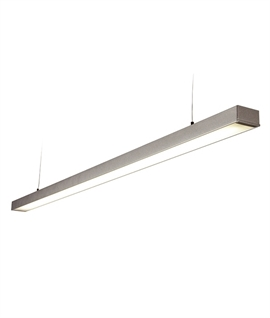 suspended lighting.  suspended led suspended module  single or double  intended lighting